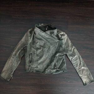 LIKE NEW - Free People asymmetrical jacket